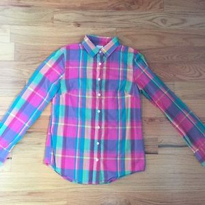 "J. Crew ""The Perfect Shirt"" button down"